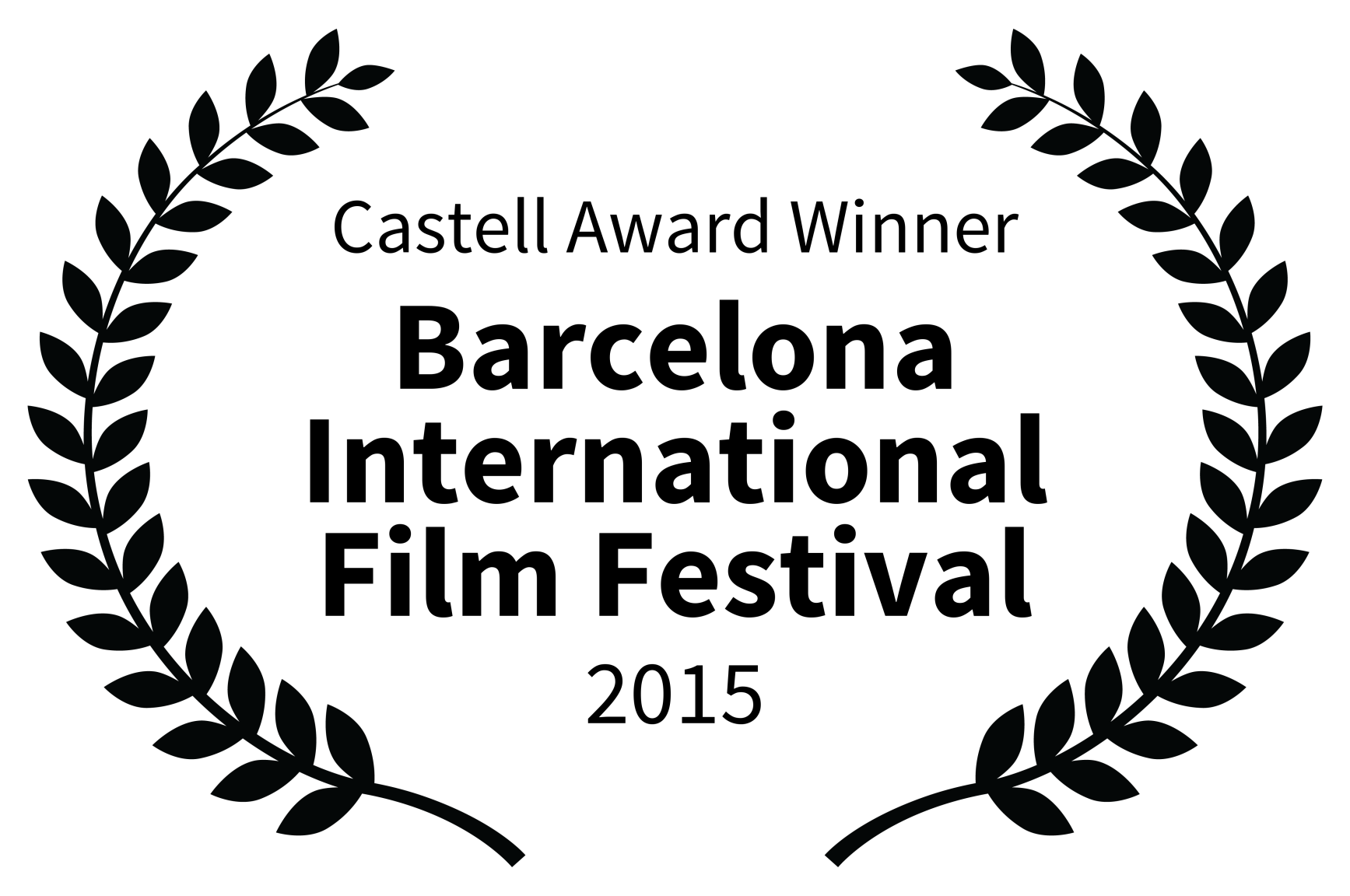 Castell Award Winner - Barcelona International Film Festival - 2015